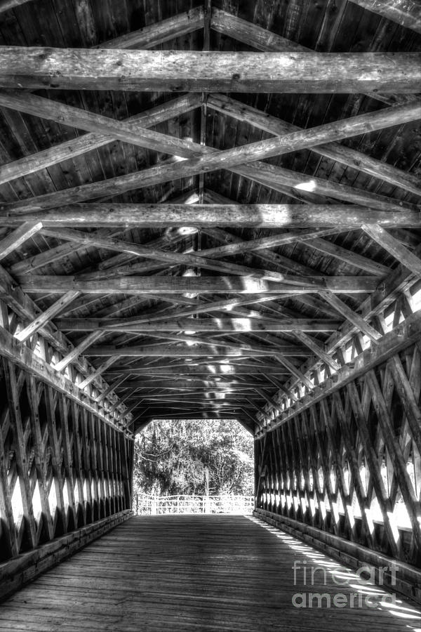 Sachs Photograph - Sachs Bridge - Gettysburg - Bw-hdr by Paul W Faust - Impressions of Light