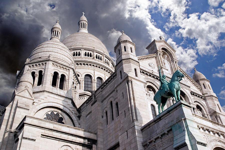 Paris Photograph - Sacre-coeur by Rod Jones