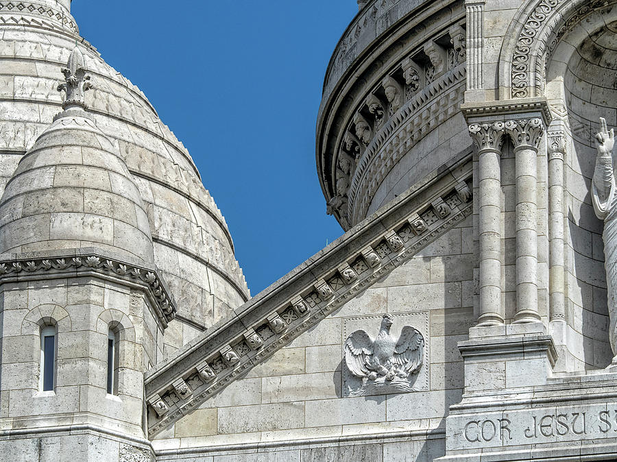 Sacre Coeur Up Close by Gary Karlsen