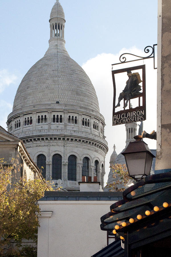 Montmartre Photograph - Sacre Couer 2428.jpg by Charles  Ridgway