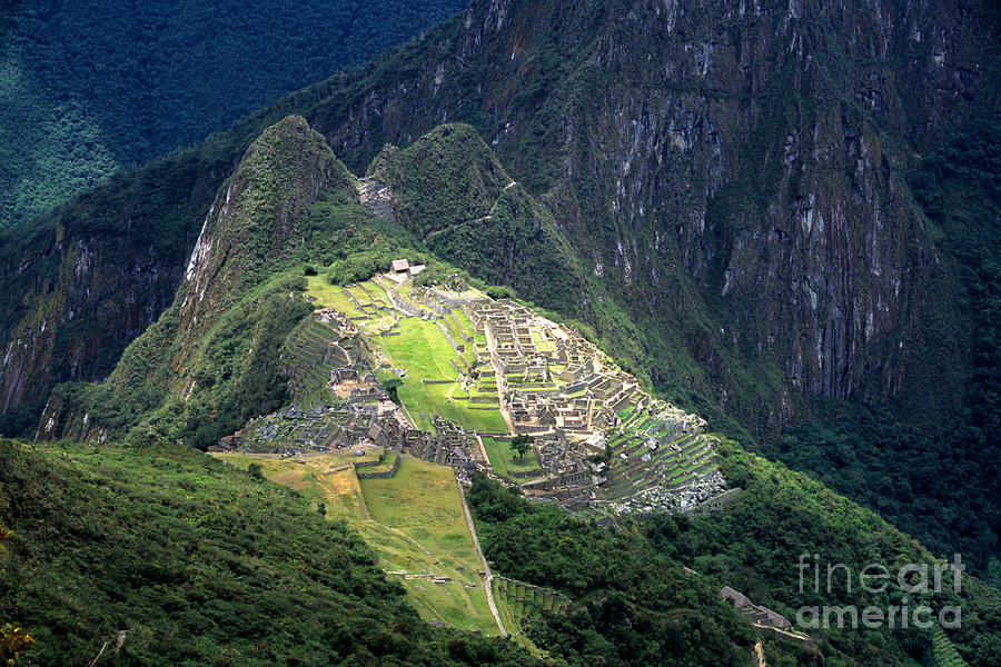 Peru Photograph - Sacred City Of Machu Picchu by James Brunker