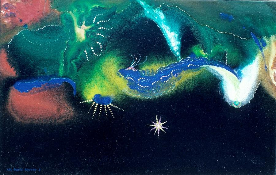 Spiritual Painting - Sacred Dawn by Lee Pantas