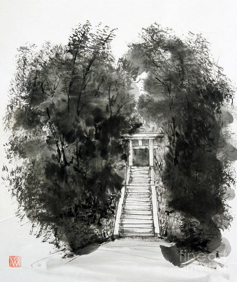 Sacred Gate  by Fumiyo Yoshikawa