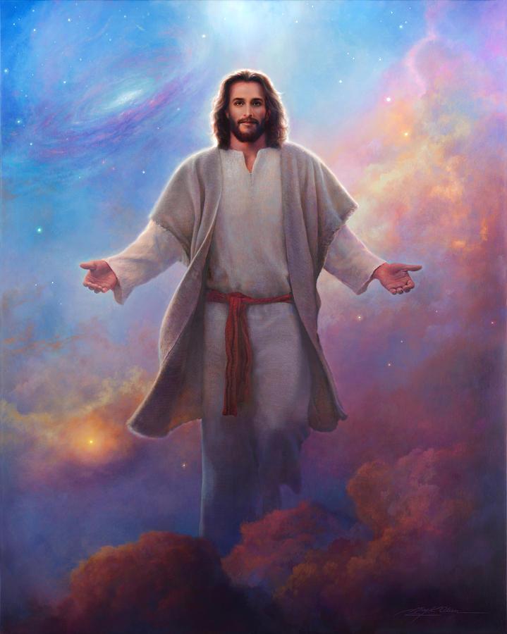 Jesus Painting - Sacred Space by Greg Olsen