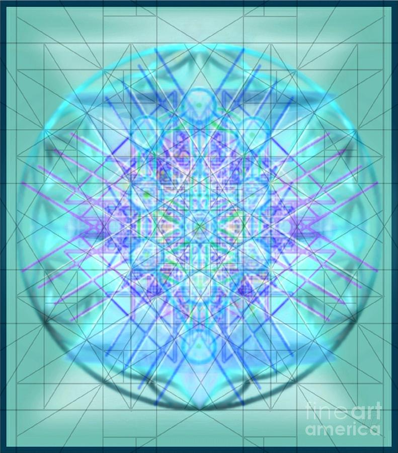 Multiple Layers Digital Art - Sacred Symbols Out Of The Void 3b1 by Christopher Pringer