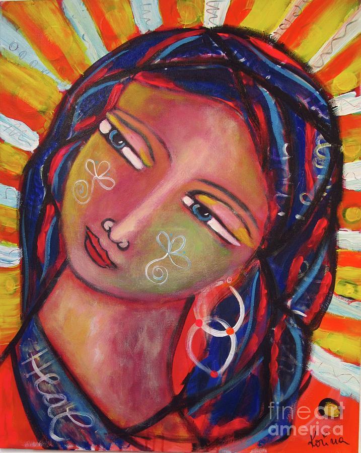 Sacred traveler, sacred healer  by Corina Stupu Thomas