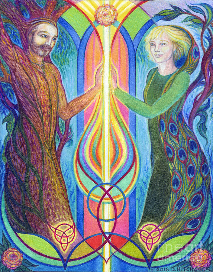Sacred Union by Debra A Hitchcock