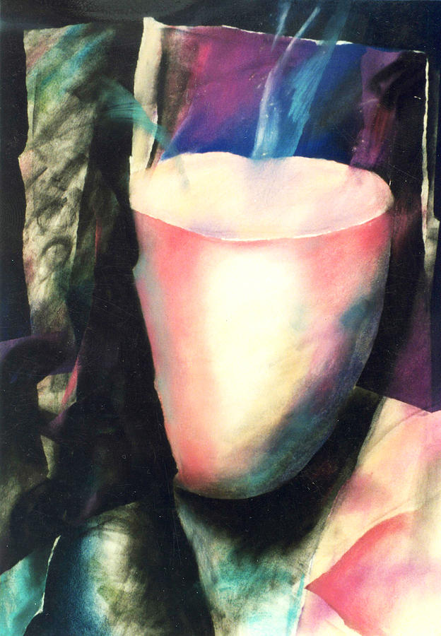 Mystical Pastel - Sacred Vessel I by Sue Reed