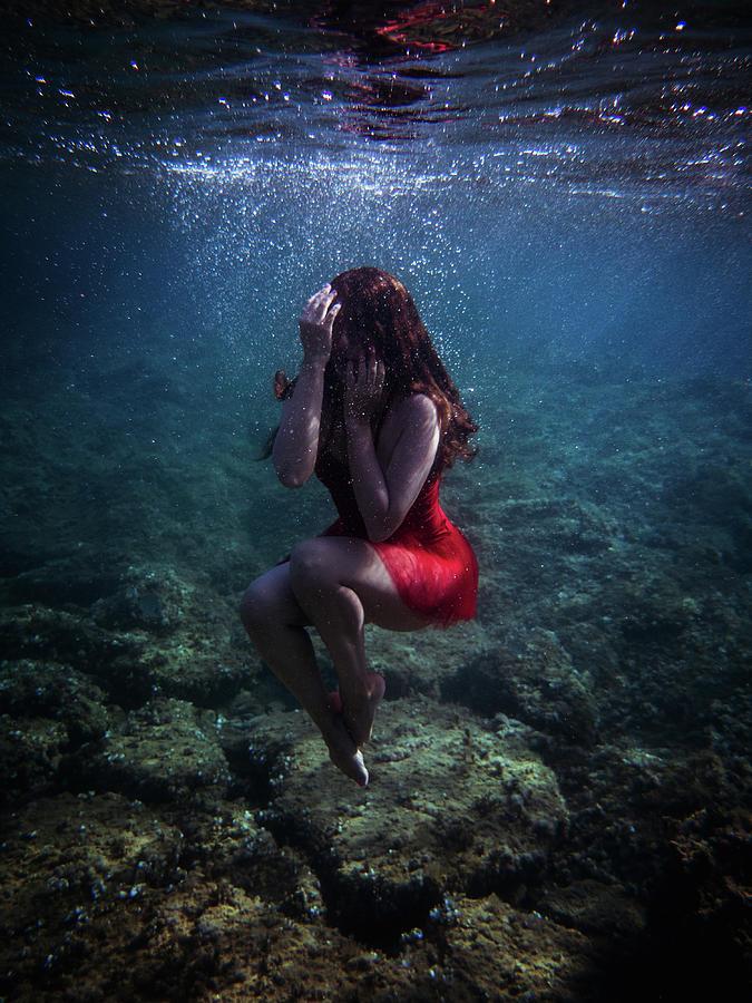 Sad Mermaid by Gemma Silvestre