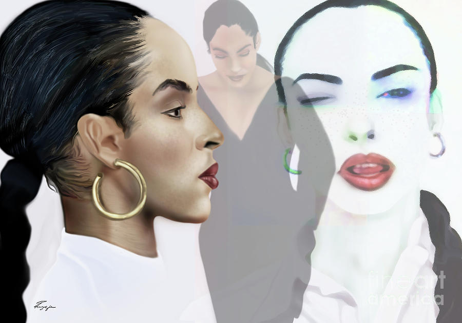 Sade In Layers  by Reggie Duffie