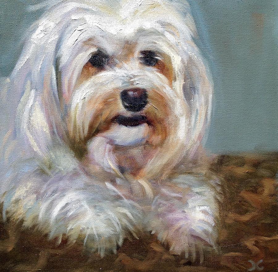 Sadie Painting by Cynthia Mozingo