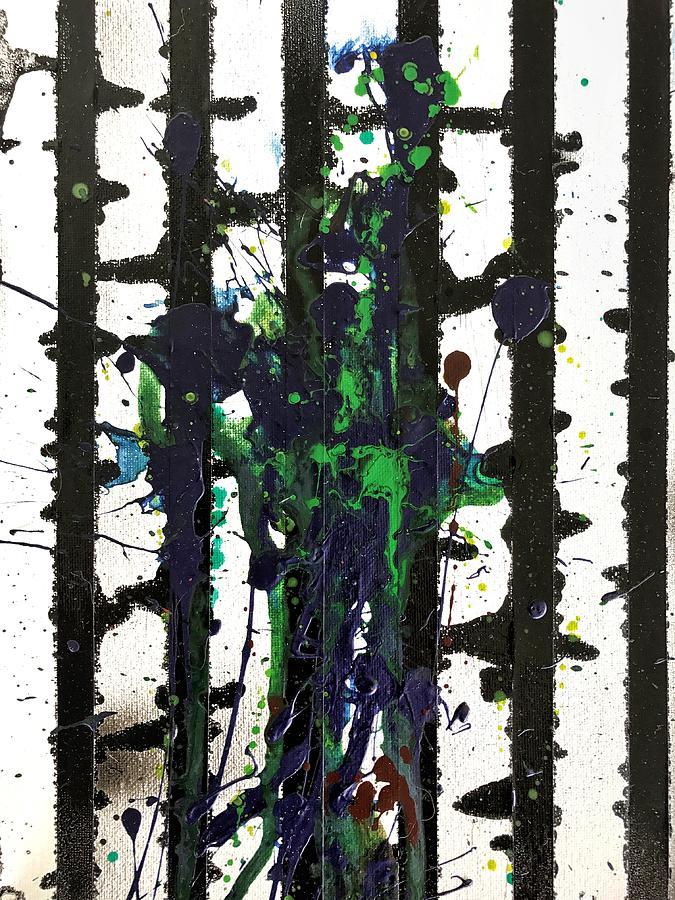 Fluid Painting - Sadie by Robbie Masso
