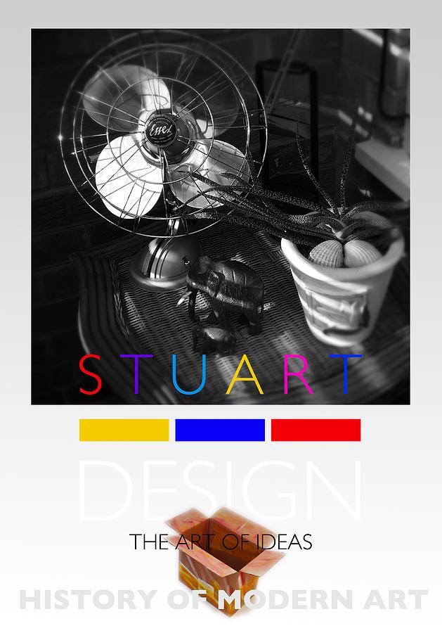 De Stijl Photograph - Safari Poster by Charles Stuart
