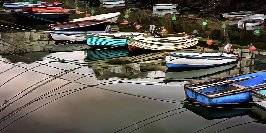 Boats Photograph - Safe Harbor by Rich Ernst