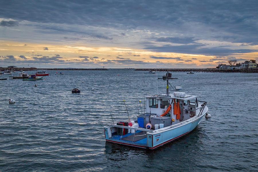 Rye Photograph - Safe Harbor by Scott Patterson