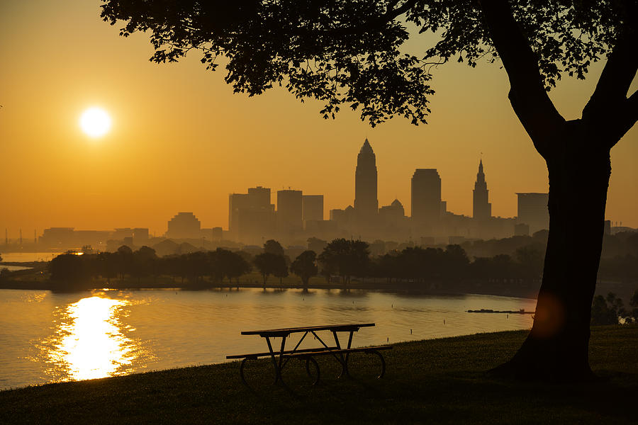Saffron Sunrise by Clint Buhler