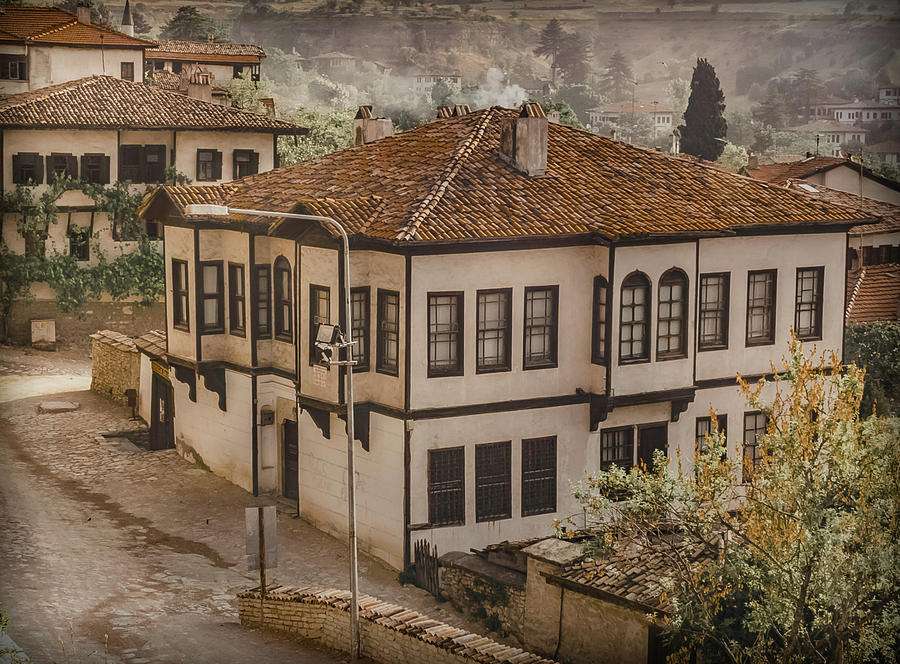 Safranbolu, Turkey - Mansion I Oldplate by Mark Forte