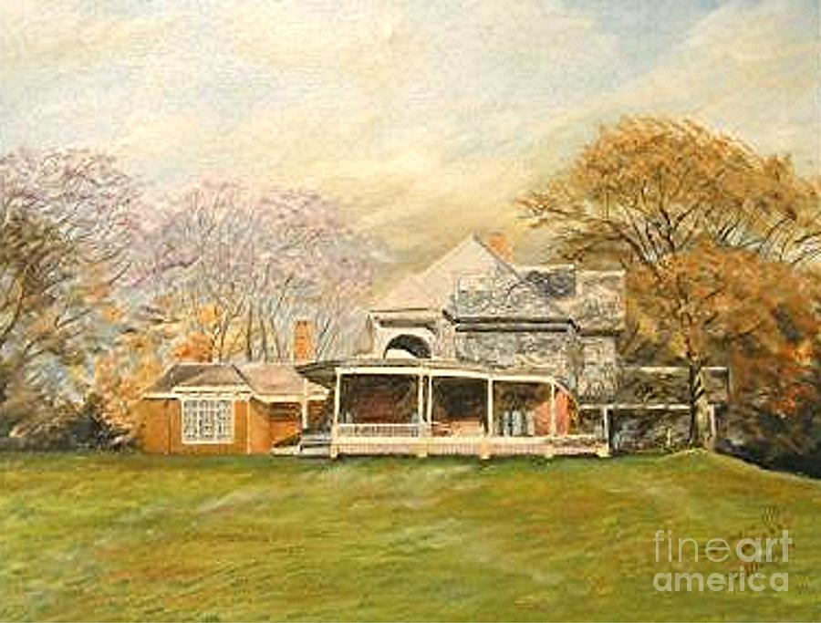 Sagamore Hill Painting by Nicholas Minniti