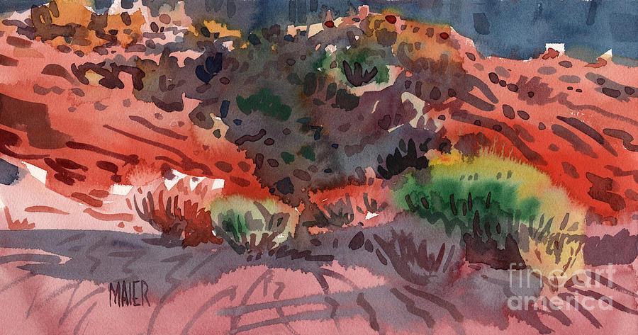 Sagebrush Painting - Sagebrush by Donald Maier