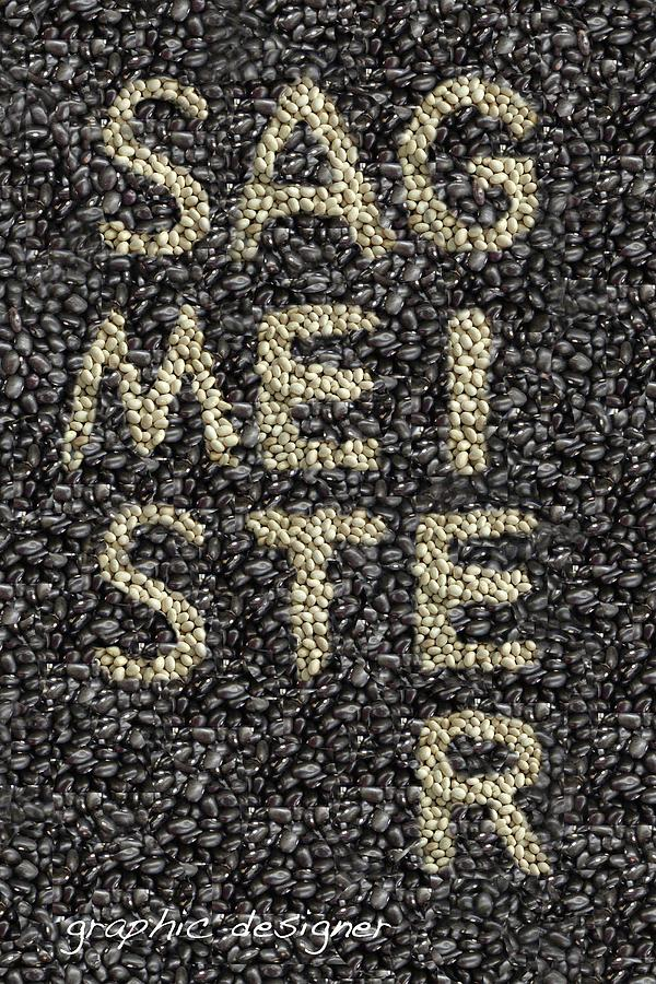 Stefan Sagmeister Digital Art - Sagmeister-style by Ashley Cameron