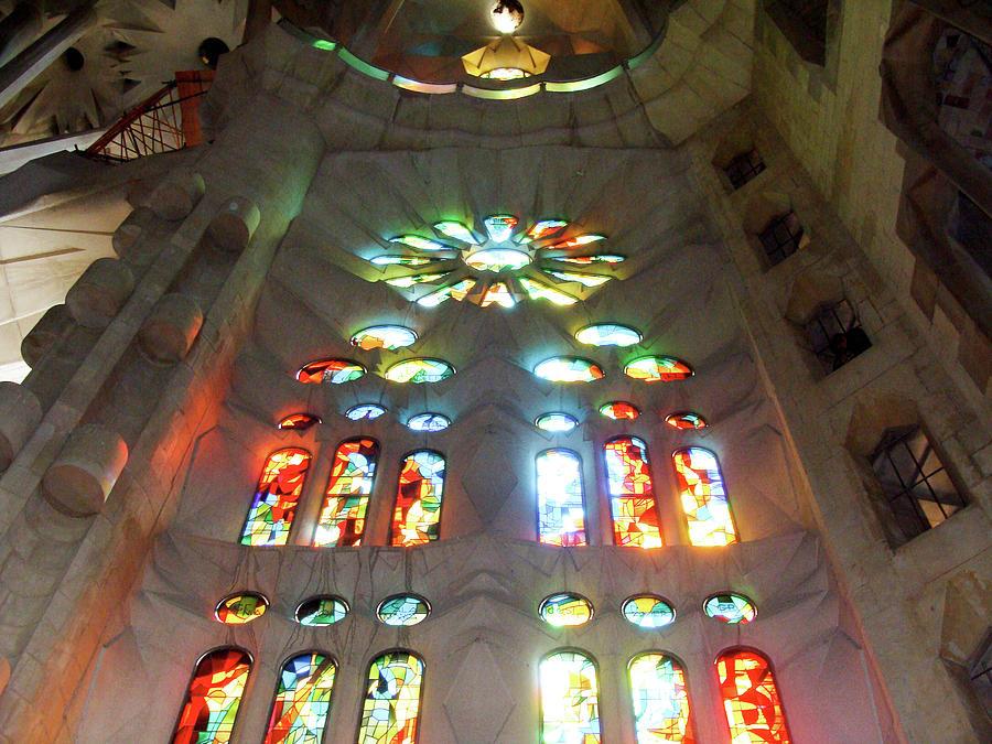 Sagrada Familia Photograph - Sagrada Familia by Patrick Rabbat