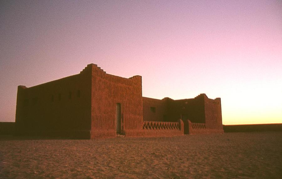 Architecture Photograph - Sahara House by David Halperin