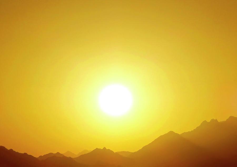 Sahara Sunset 2 Photograph