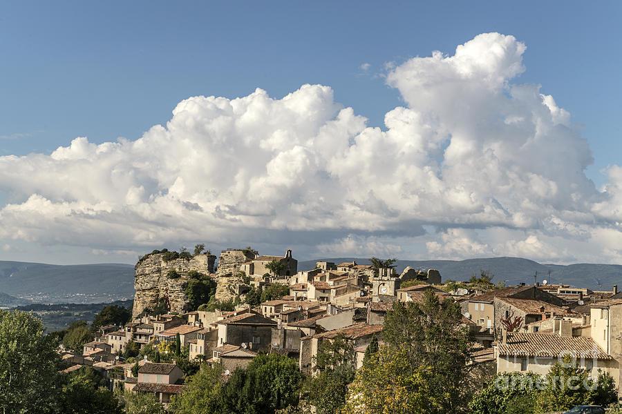 Provence Photograph - Saignon Village Provence  by Juergen Held
