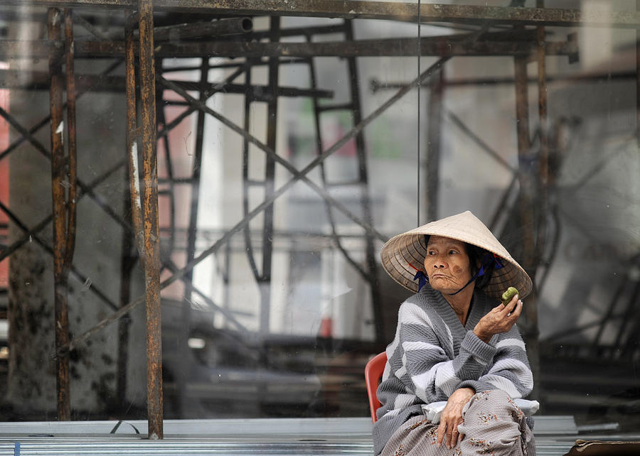 Vietnam Photograph - Saigon Lady by Rafa Rivas