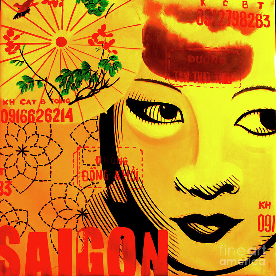 Saigon Sally, The Vietnam Collection Digital Art by Jeffery Waz