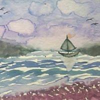 Sail Away Painting by John DiMare