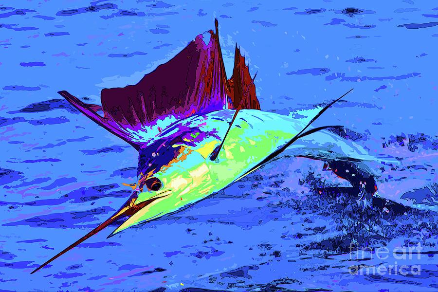 Sailfish Photograph - Sail Away by Keri West