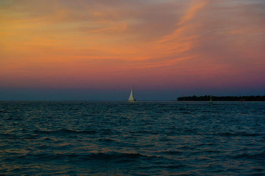 Sail Into Darkness Photograph