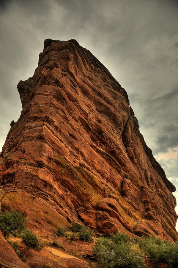 Red Rocks Amphitheater Photograph - Sail Rock by Patrick  Flynn