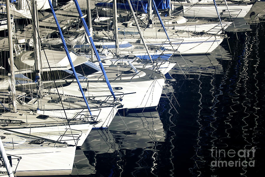 Bow Photograph - Sailboat Bow by John Rizzuto