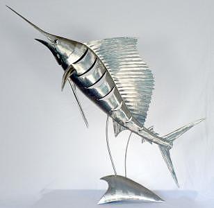 Sailfish Sculpture - Sailfish 906 by Stuart Peterman