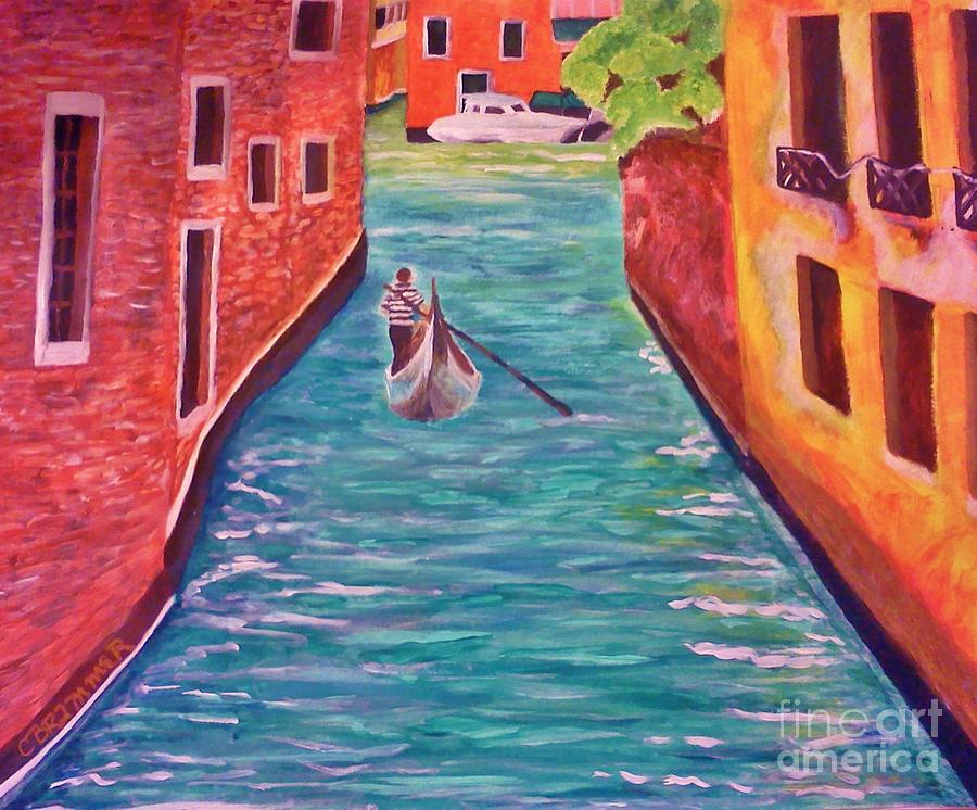 Sailing Away Painting