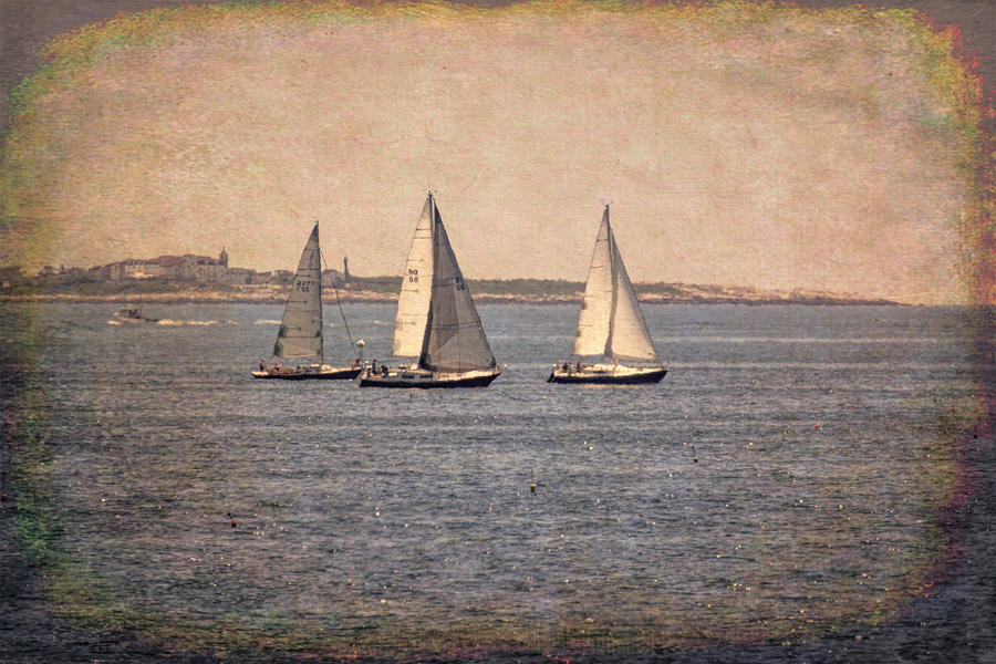 Sailing  by Betty Pauwels