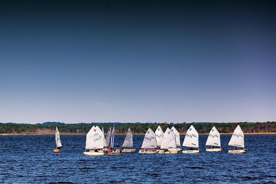 Sailing Class Photograph