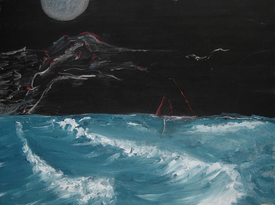Sailing Painting by Darkest Artist