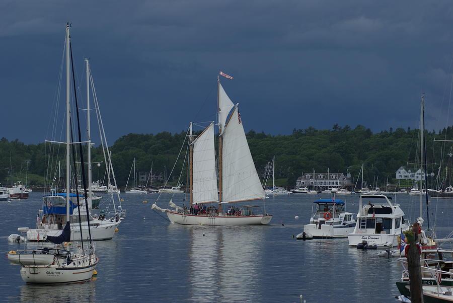 Sailboat Photograph - Sailing by Lois Lepisto