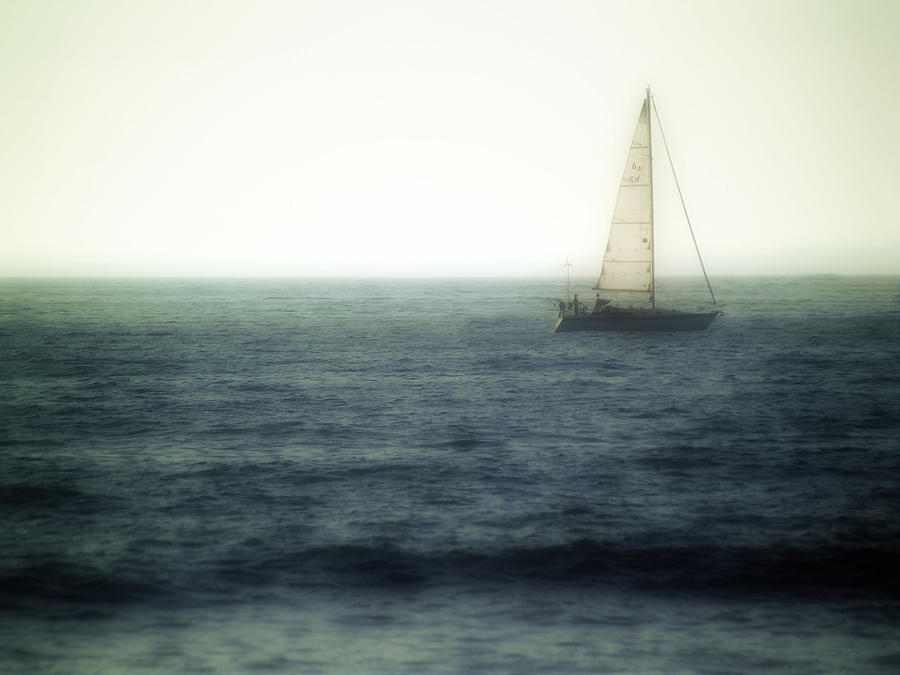 Sailing Photograph - Sailing by Lyle  Huisken