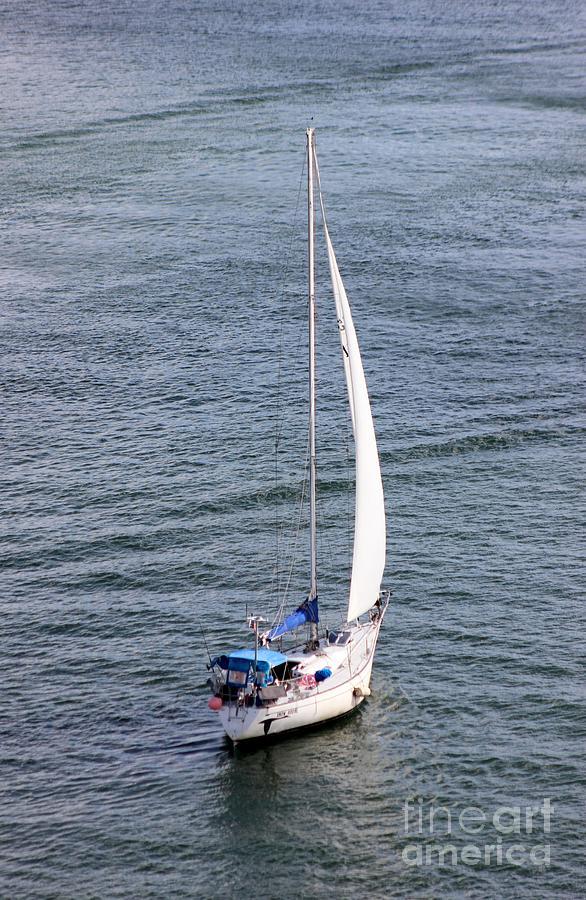 Boat Photograph - Sailing by Mesa Teresita
