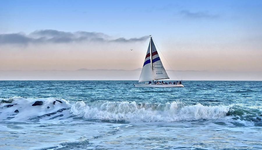 Sailing Santa Cruz by Marilyn MacCrakin