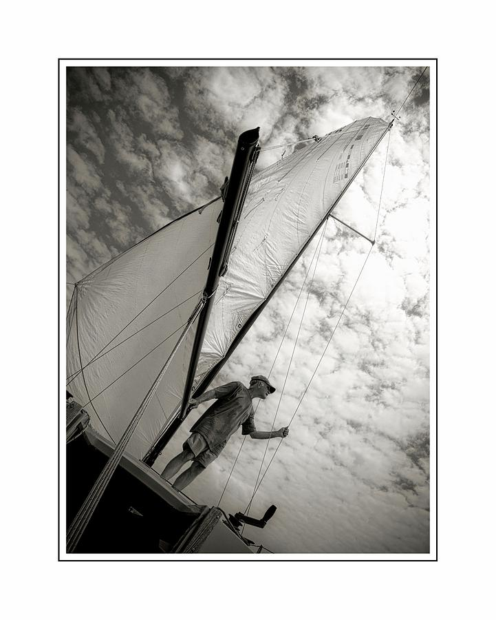 Sailing Photograph by Scott Fracasso