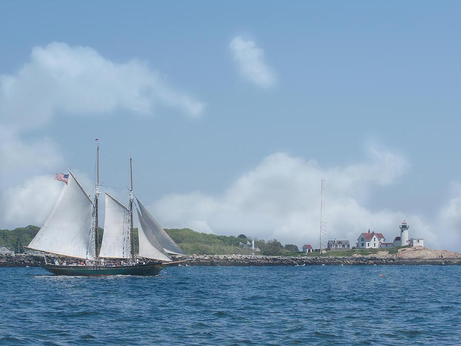 Ship Photograph - Sailing Ship by ChelleAnne Paradis