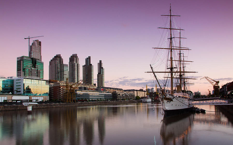 Sailing Ship Digital Art - Sailing Ship by Dorothy Binder