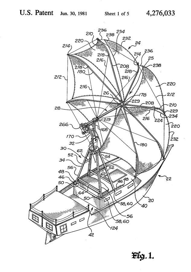 Sailing System Drawing by Ray Walsh