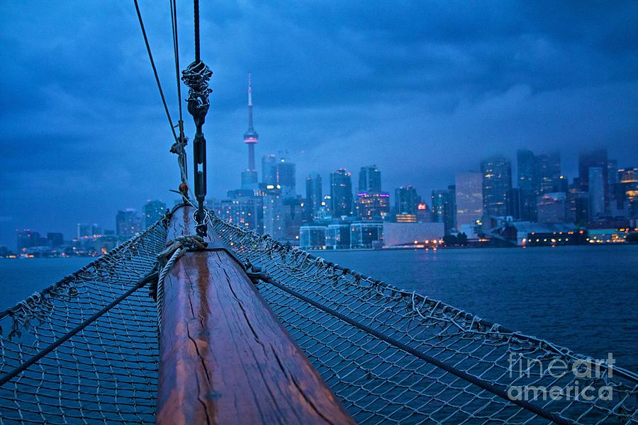 Toronto Photograph - Sailing To The Present by Cobbled Path Photography