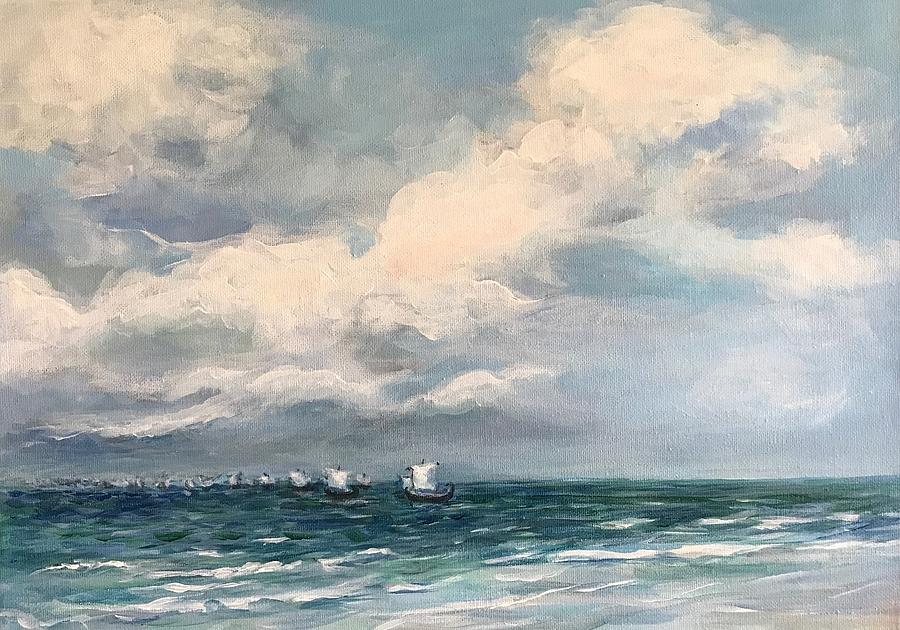 Sailing To Troy by Elisabeth Harvey